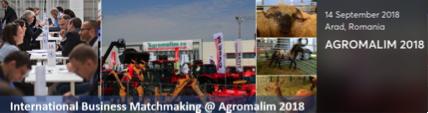International Business Matchmaking @ AGROMALIM 2018